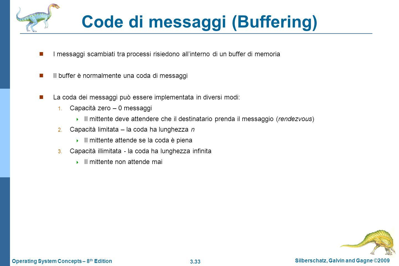 Code di messaggi (Buffering)