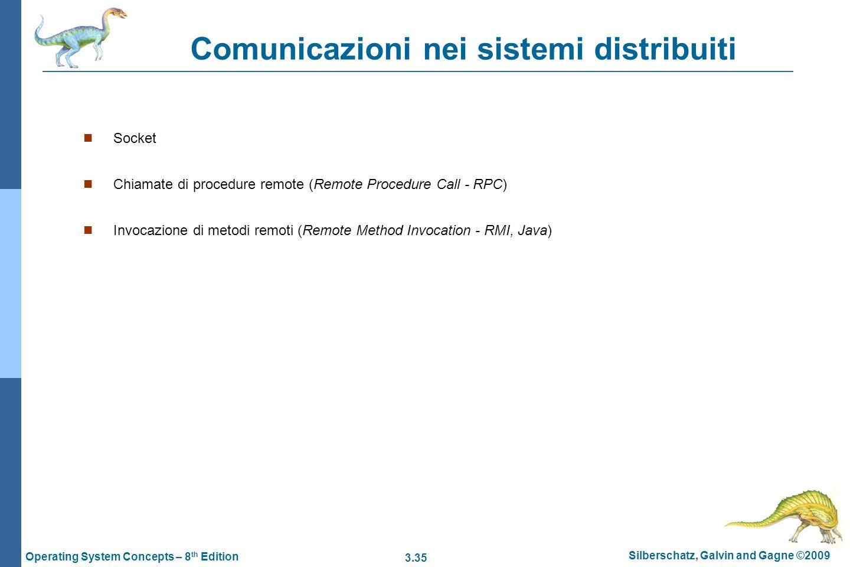Comunicazioni nei sistemi distribuiti