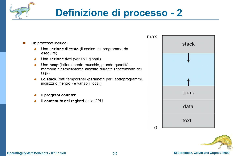 Definizione di processo - 2