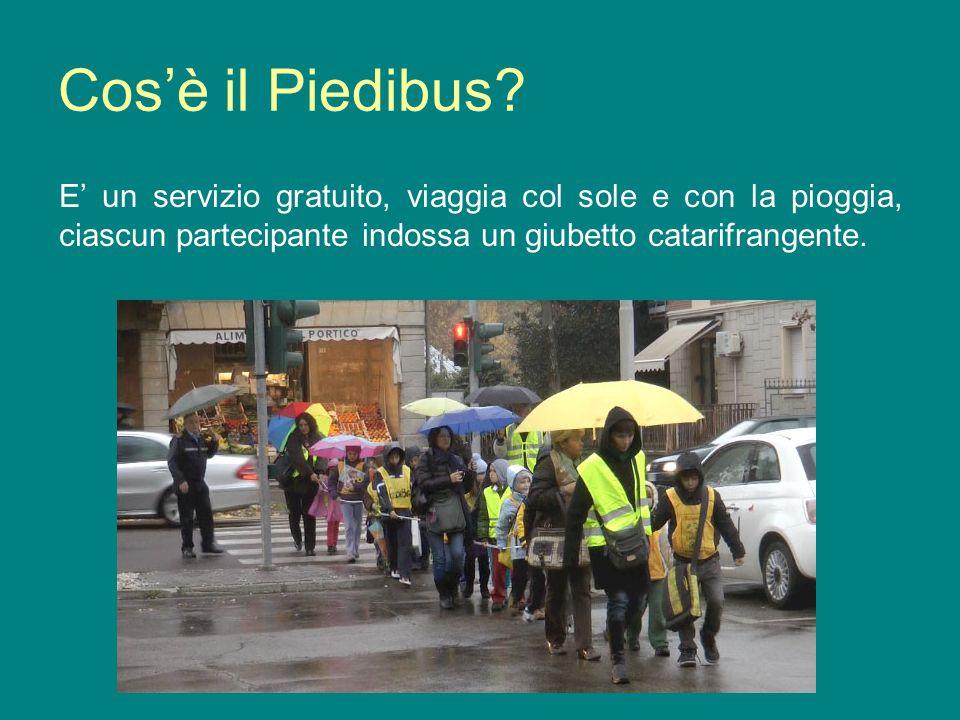 Cos'è il Piedibus.