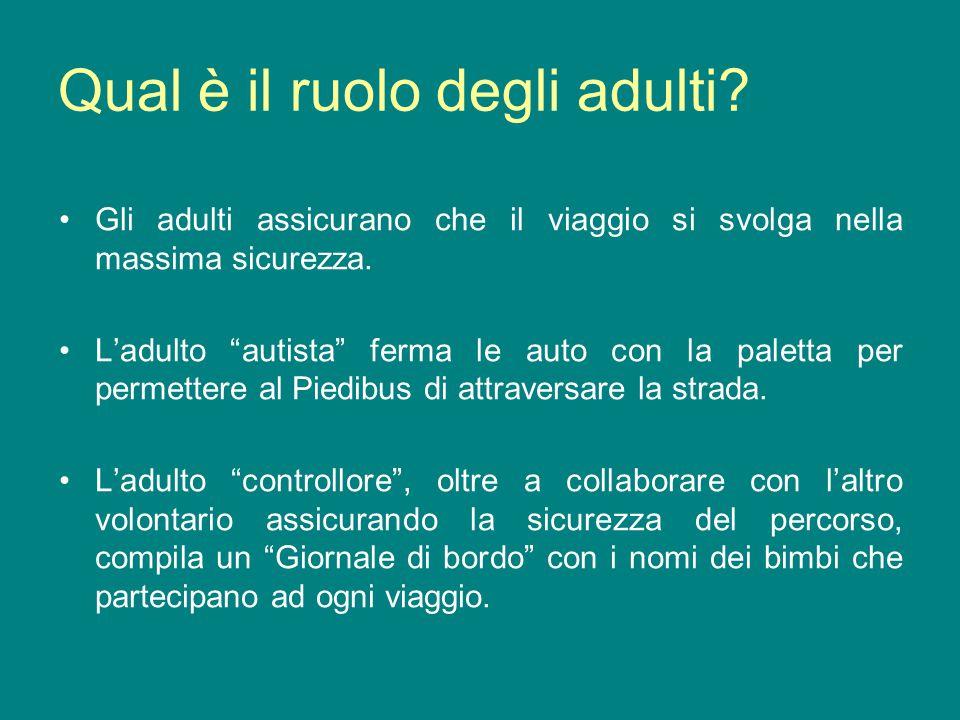 Qual è il ruolo degli adulti
