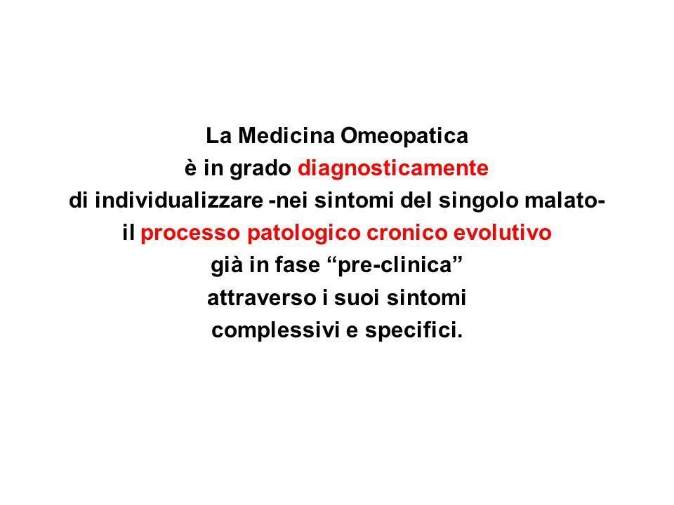 La Medicina Omeopatica è in grado diagnosticamente