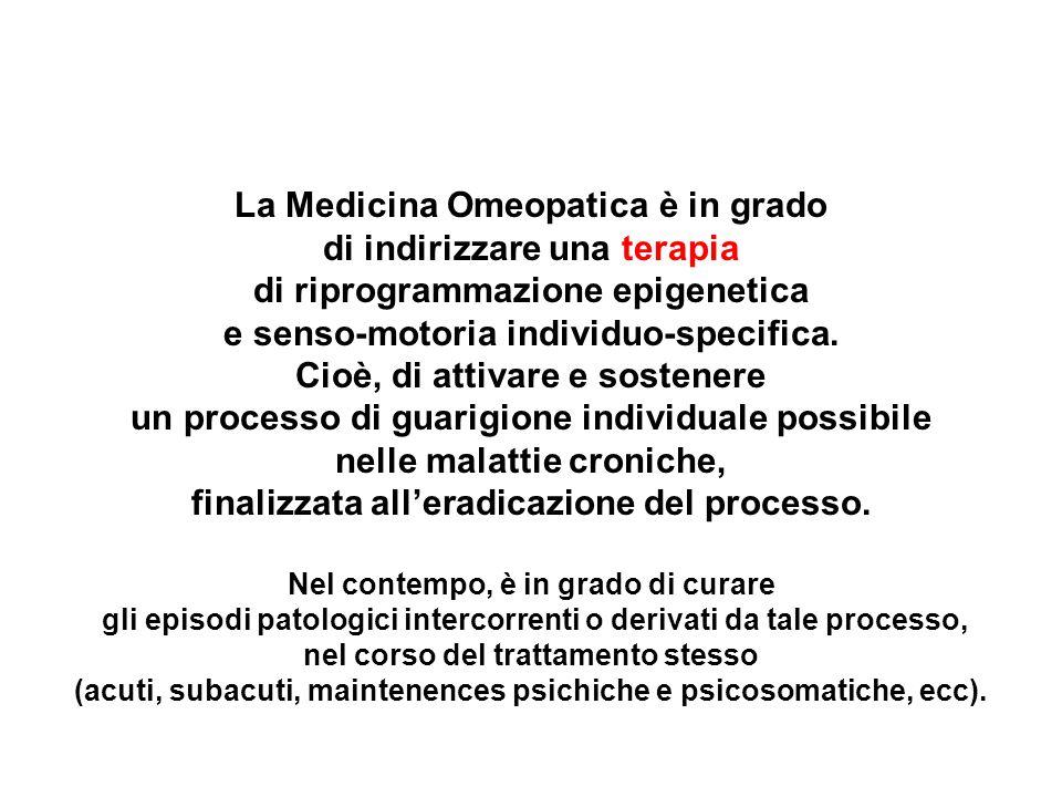 La Medicina Omeopatica è in grado di indirizzare una terapia