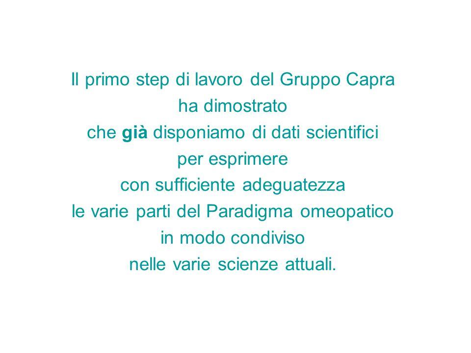 Il primo step di lavoro del Gruppo Capra ha dimostrato