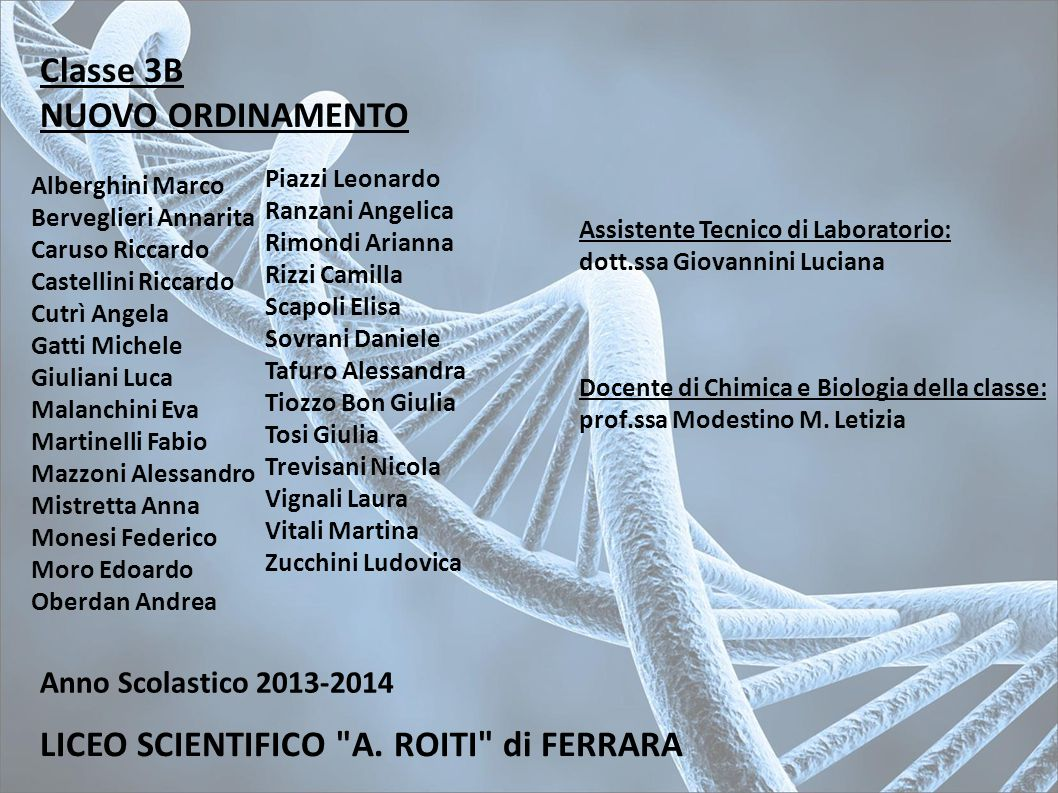 LICEO SCIENTIFICO A. ROITI di FERRARA