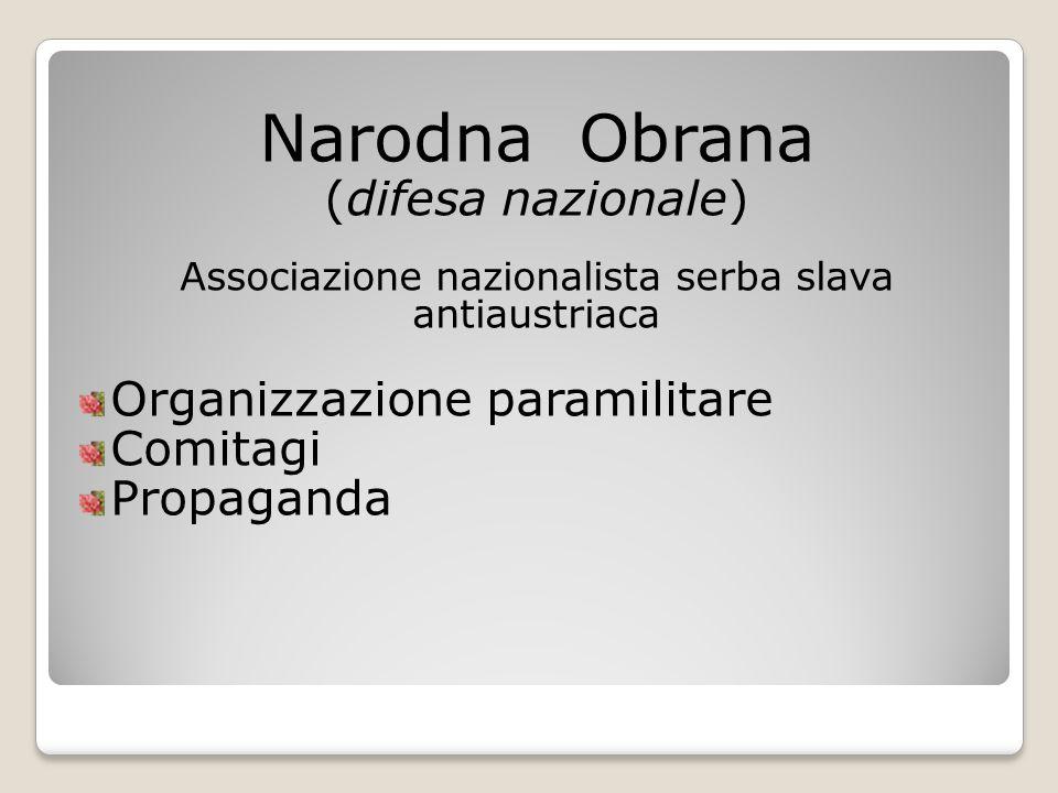 Associazione nazionalista serba slava antiaustriaca