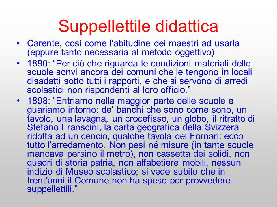Suppellettile didattica