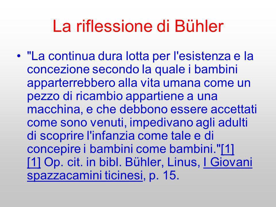 La riflessione di Bühler