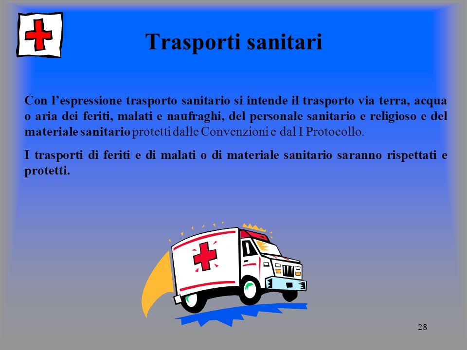 Trasporti sanitari
