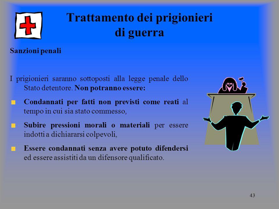Trattamento dei prigionieri di guerra