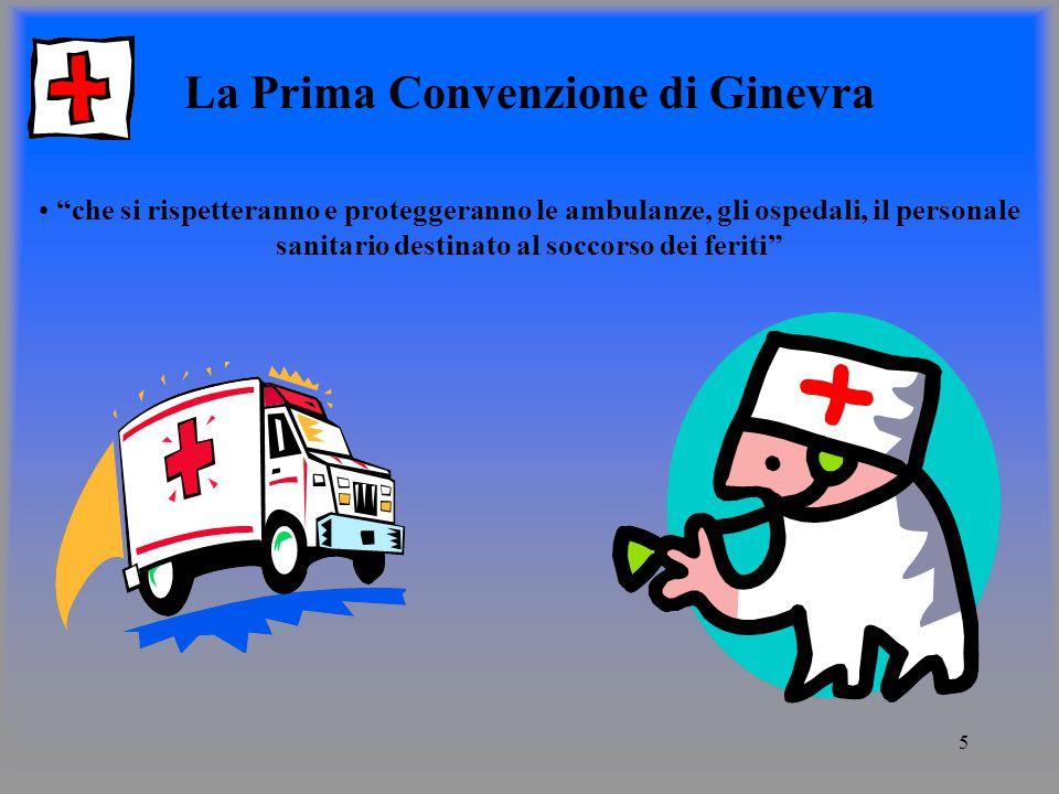 La Prima Convenzione di Ginevra