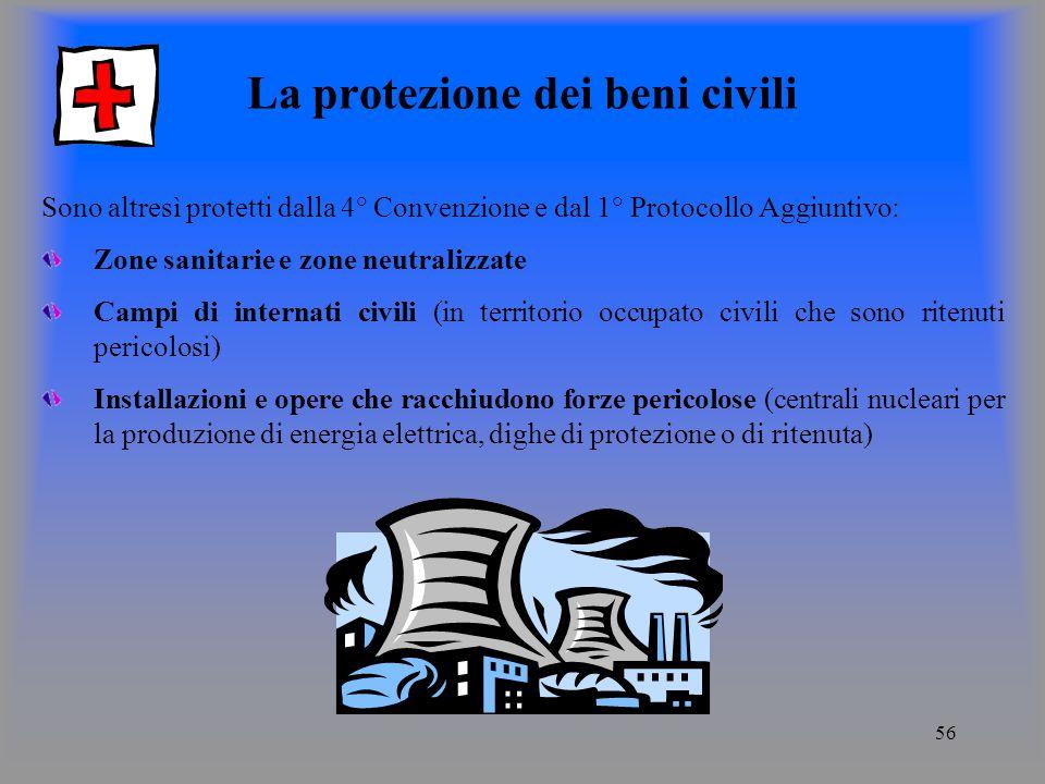 La protezione dei beni civili