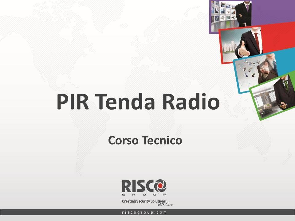 PIR Tenda Radio Corso Tecnico