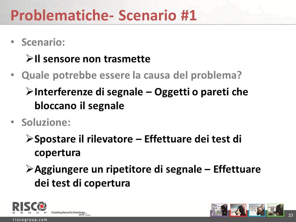 Problematiche- Scenario #1