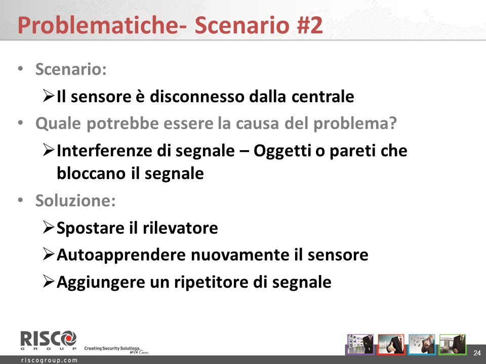 Problematiche- Scenario #2