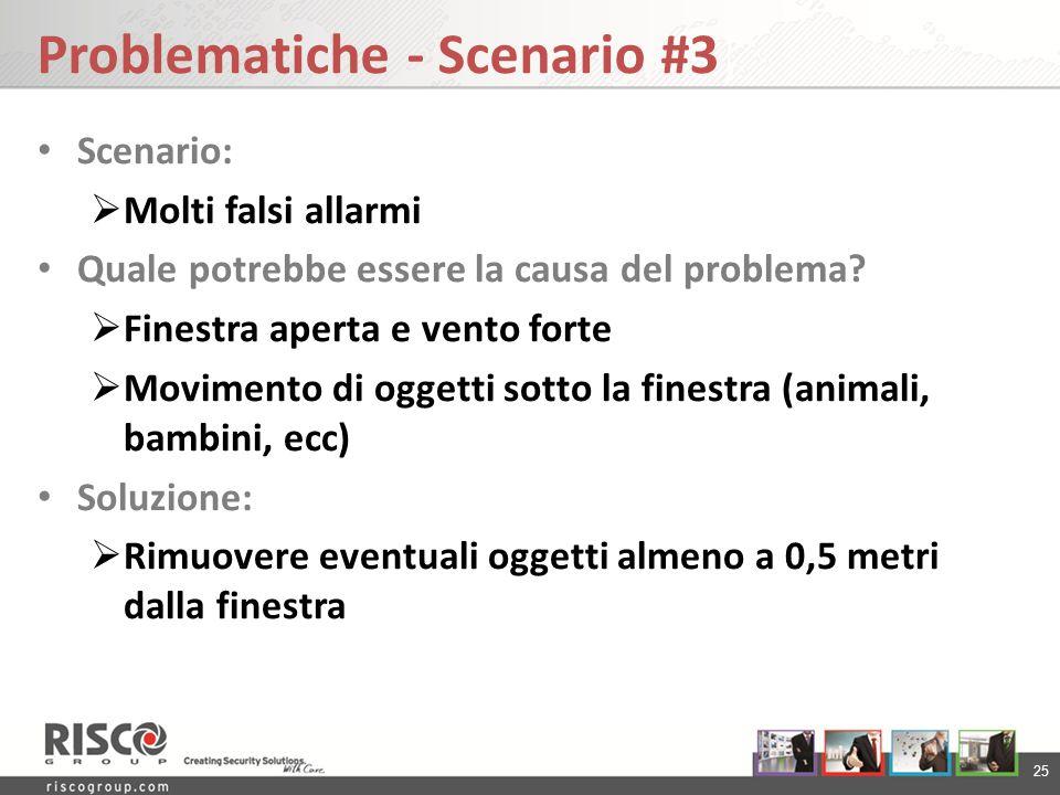Problematiche - Scenario #3