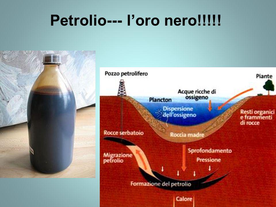 Petrolio--- l'oro nero!!!!!
