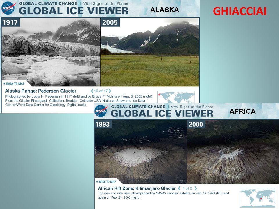 ALASKA GHIACCIAI AFRICA
