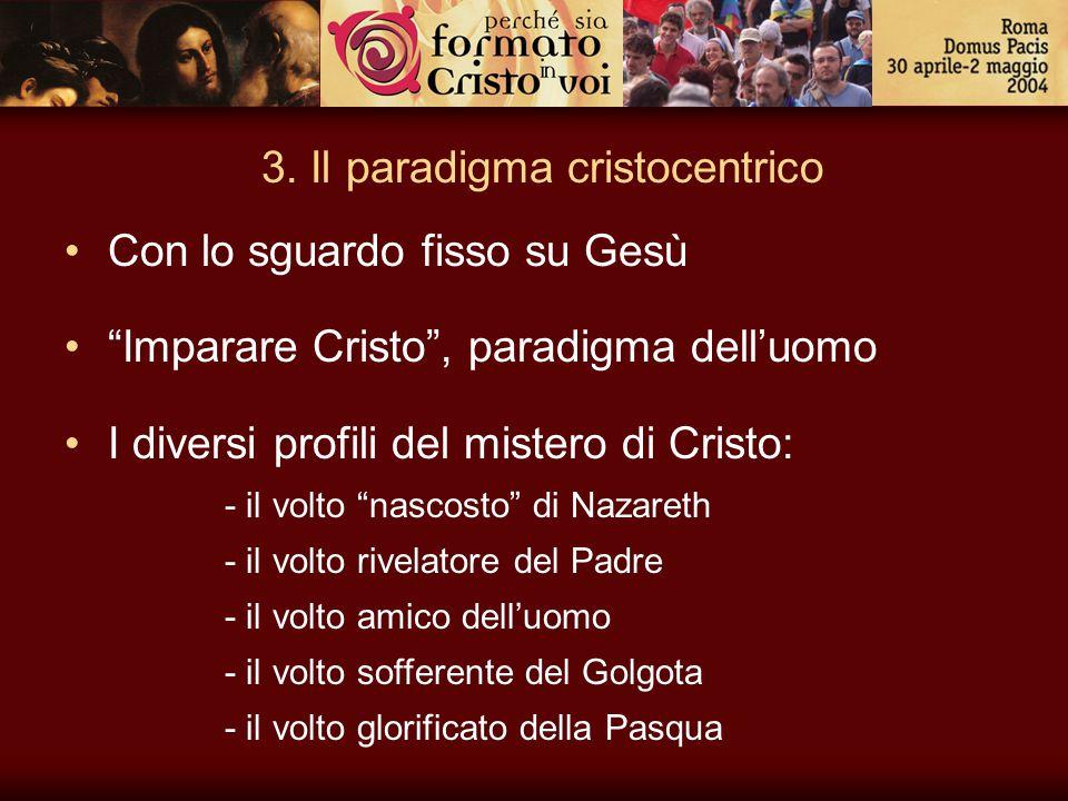 3. Il paradigma cristocentrico