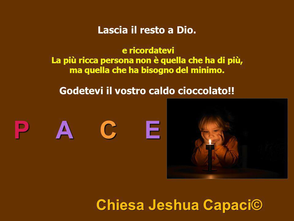 P A C E Chiesa Jeshua Capaci©