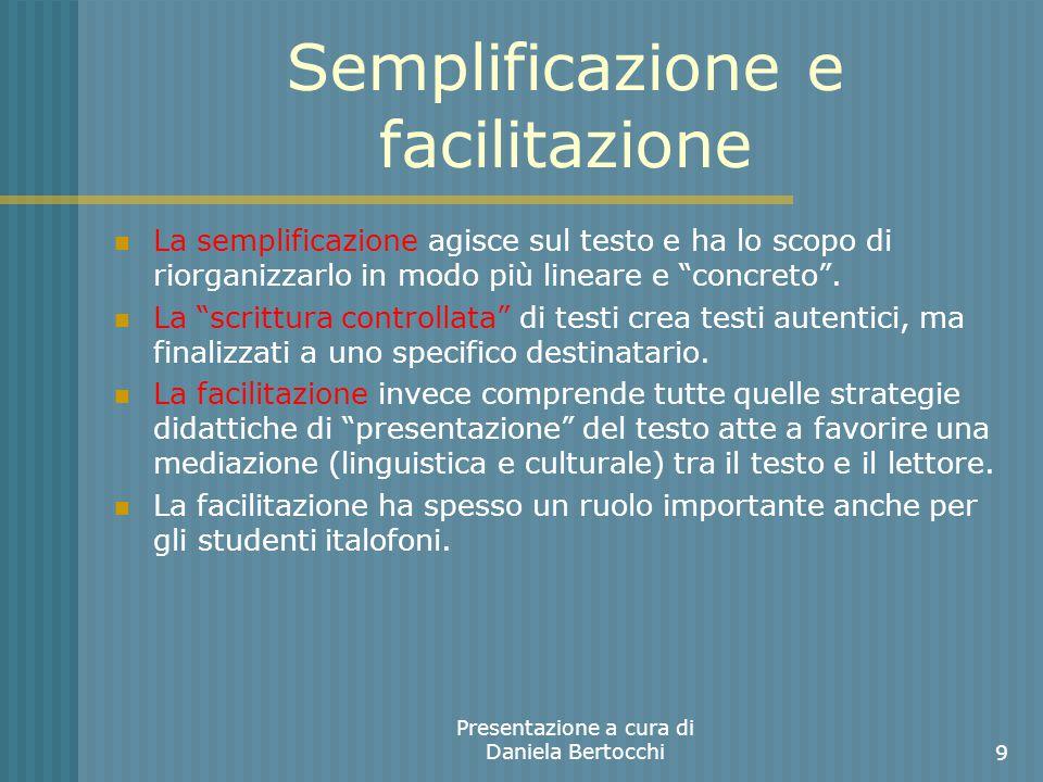Semplificazione e facilitazione