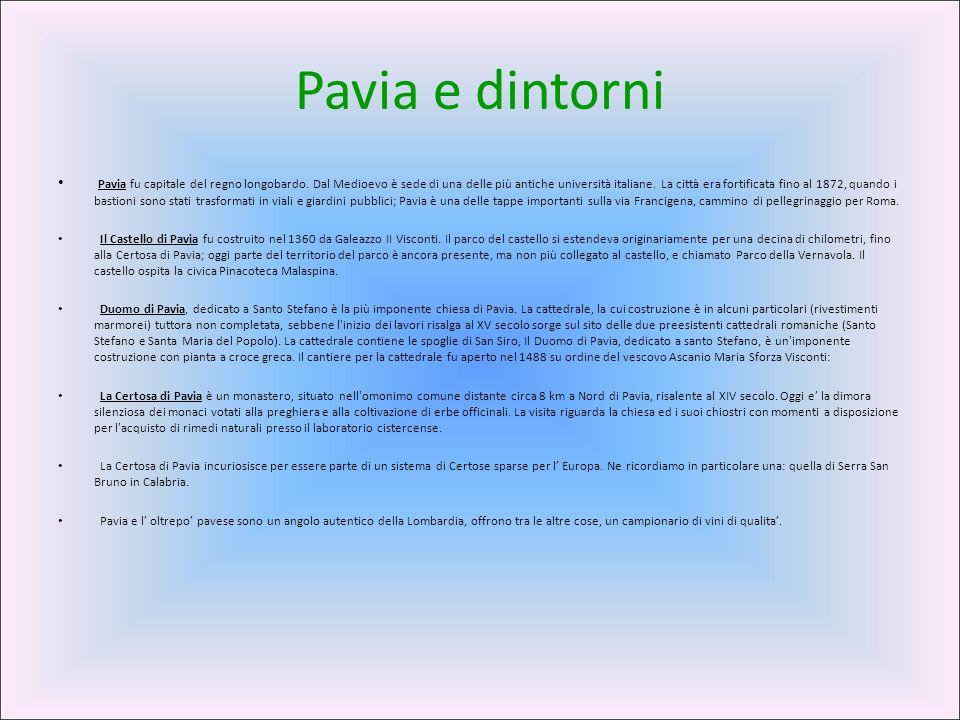 Pavia e dintorni