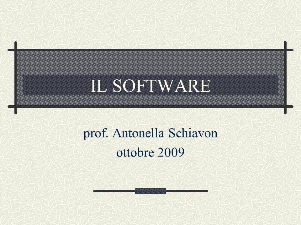 prof. Antonella Schiavon ottobre 2009