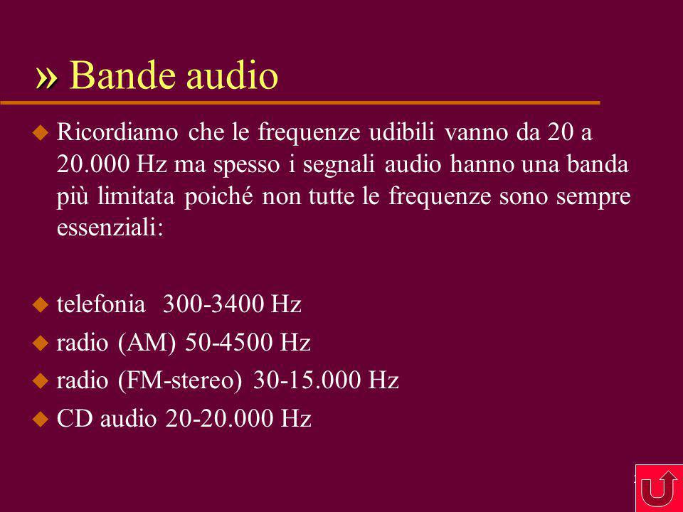 » Bande audio