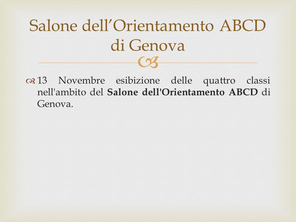 Salone dell'Orientamento ABCD di Genova