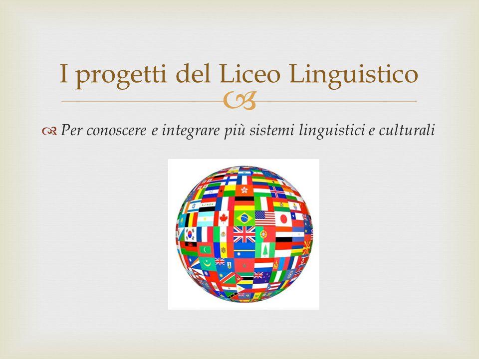 I progetti del Liceo Linguistico
