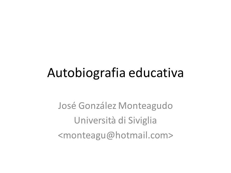 Autobiografia educativa