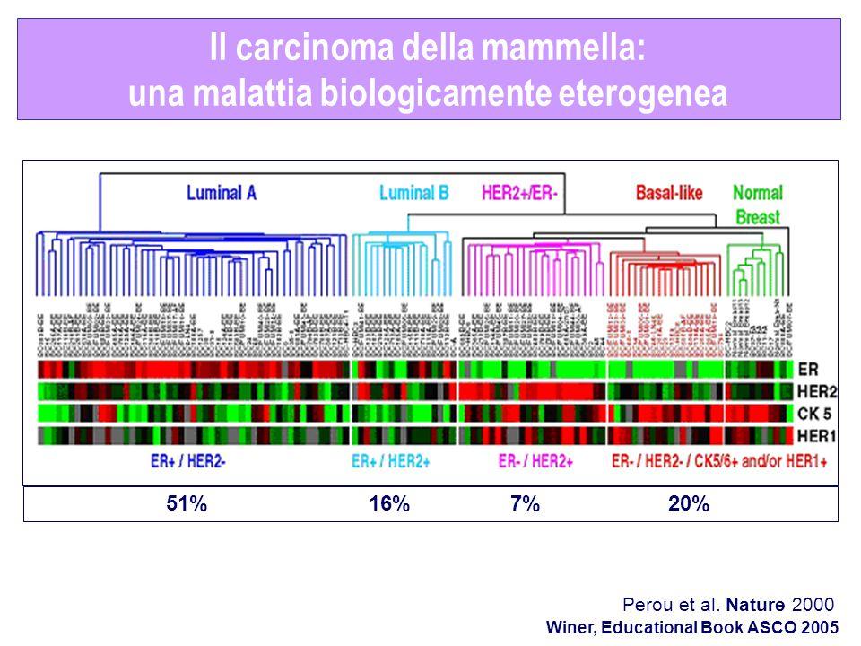 Il carcinoma della mammella: una malattia biologicamente eterogenea