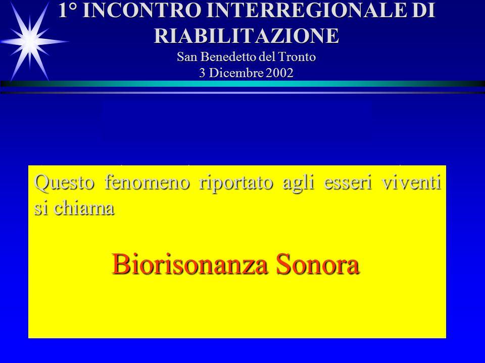 Risonanza Sonora Biorisonanza Sonora