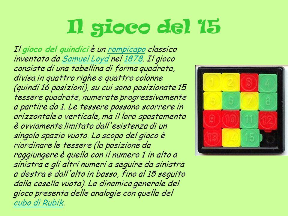 Il gioco del 15