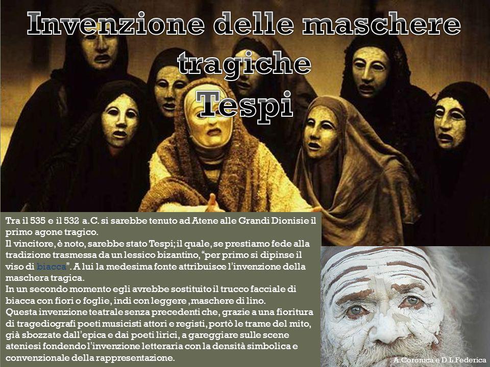 Invenzione delle maschere tragiche