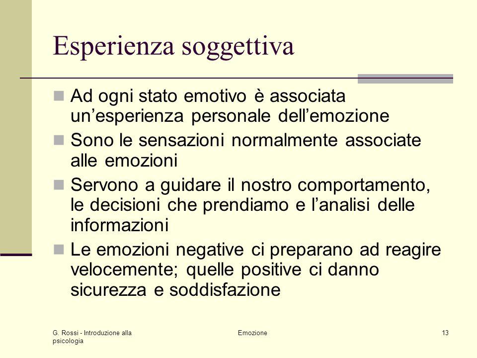 Esperienza soggettiva