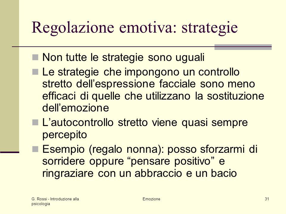 Regolazione emotiva: strategie