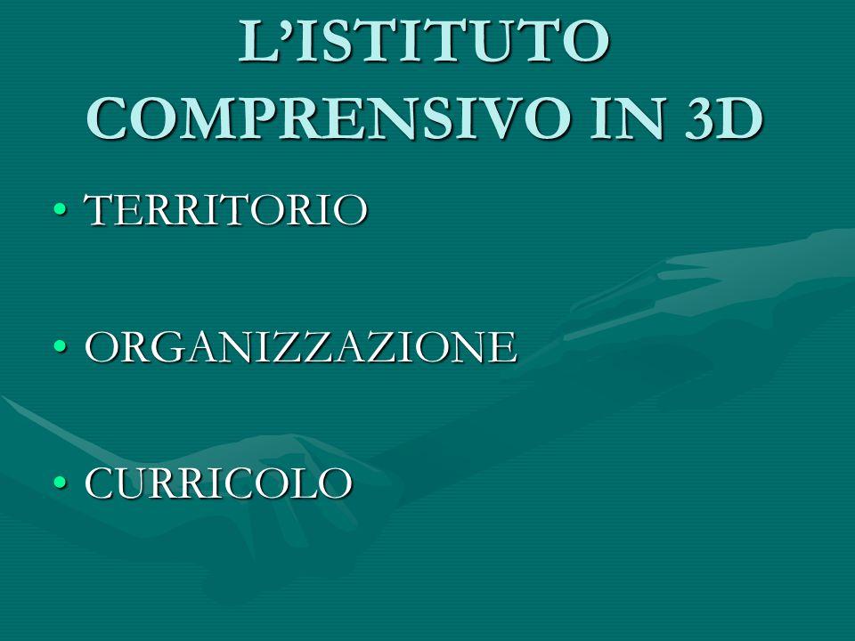 L'ISTITUTO COMPRENSIVO IN 3D