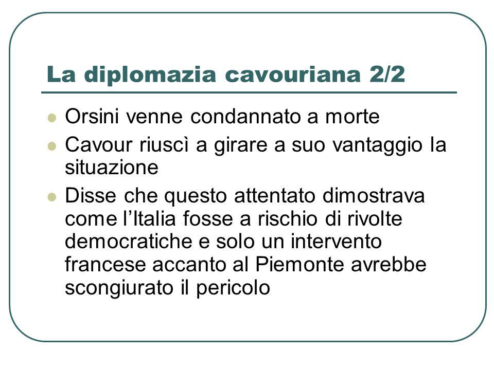 La diplomazia cavouriana 2/2