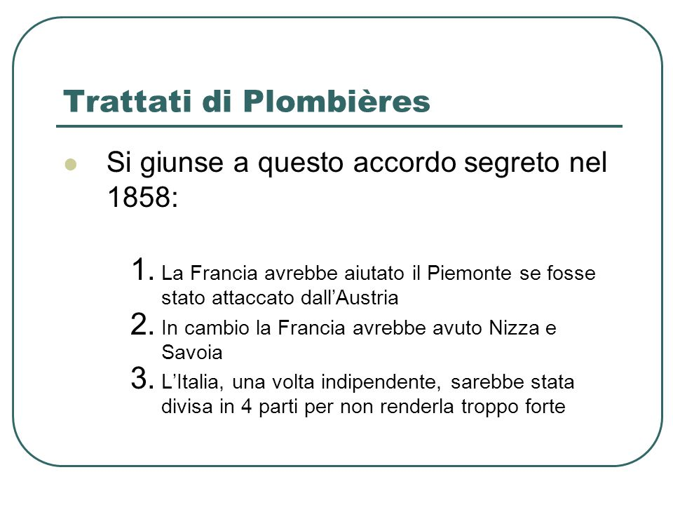 Trattati di Plombières