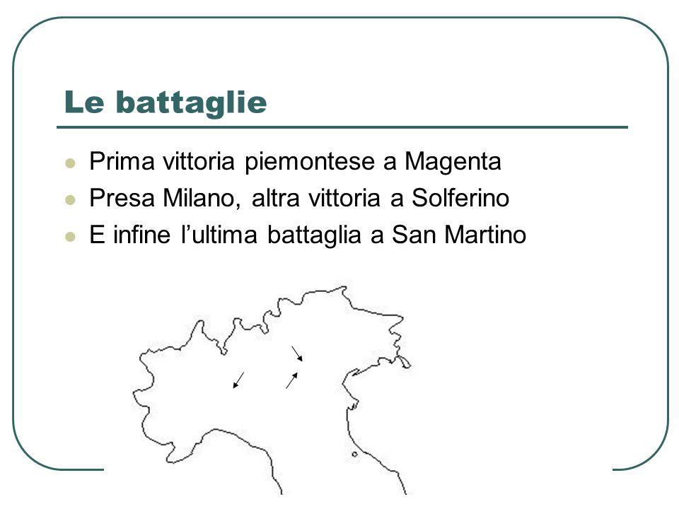 Le battaglie Prima vittoria piemontese a Magenta