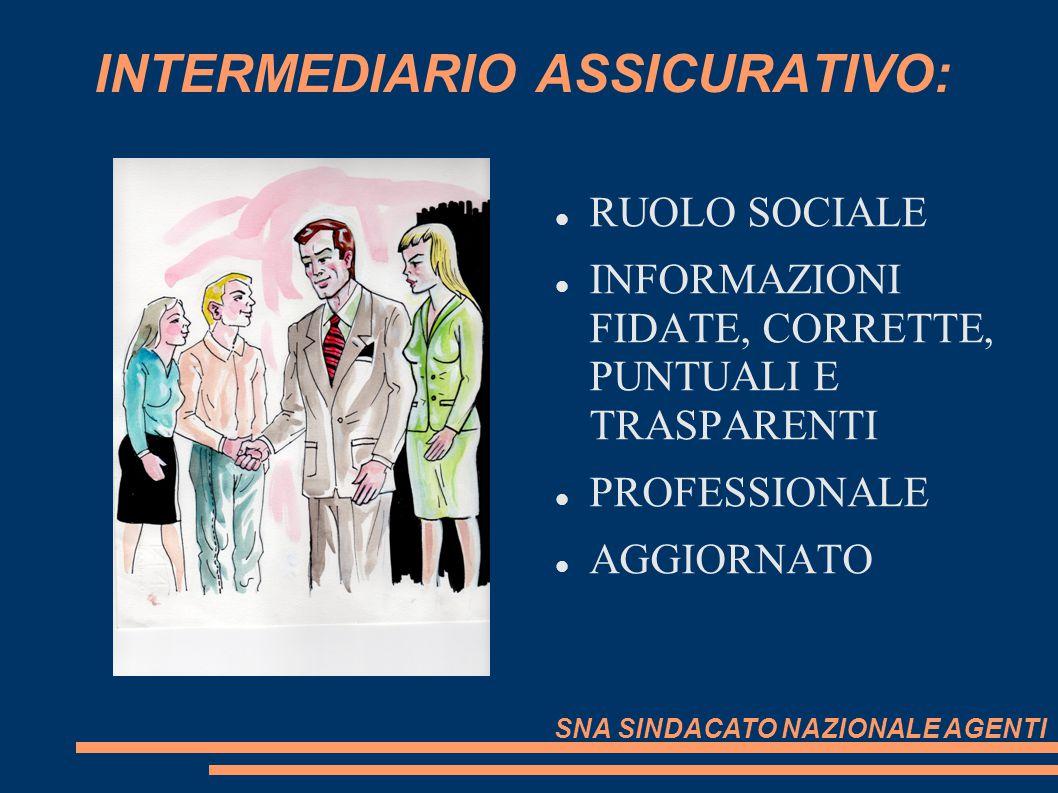 INTERMEDIARIO ASSICURATIVO: