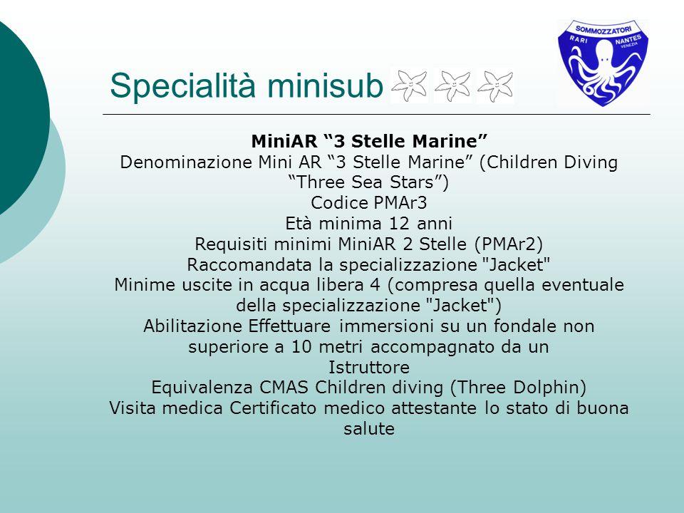 MiniAR 3 Stelle Marine