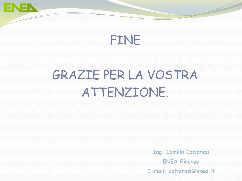 E-mail: calvaresi@enea.it