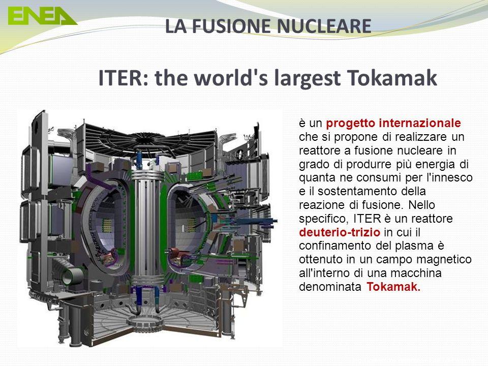 ITER: the world s largest Tokamak