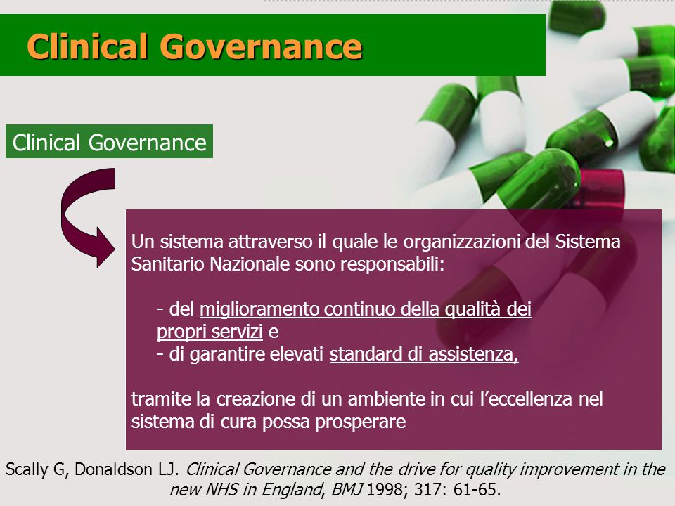 Clinical Governance Clinical Governance