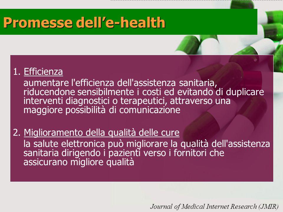 Promesse dell'e-health