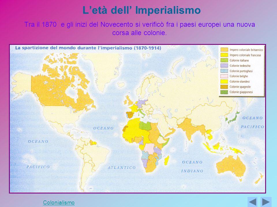 L'età dell' Imperialismo