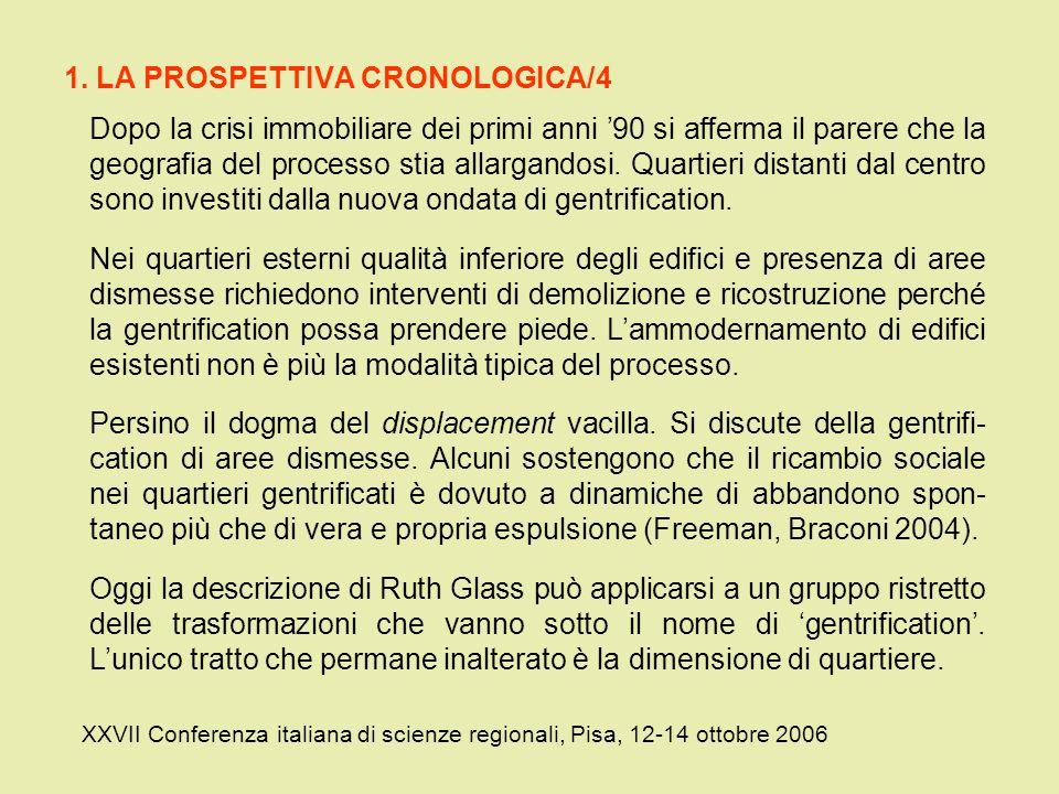 1. LA PROSPETTIVA CRONOLOGICA/4