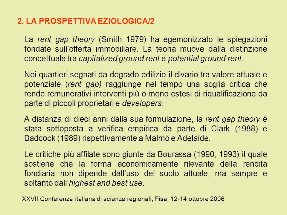 2. LA PROSPETTIVA EZIOLOGICA/2